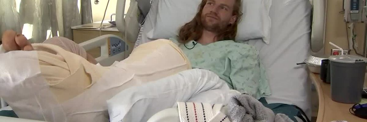 GRAPHIC: Runner rescued more than 10 hours after breaking leg on remote Wash. trail