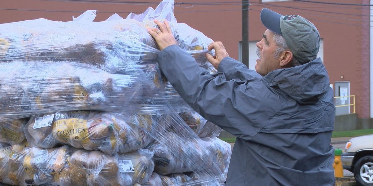42,000 pounds of potatoes shipped to Evansville