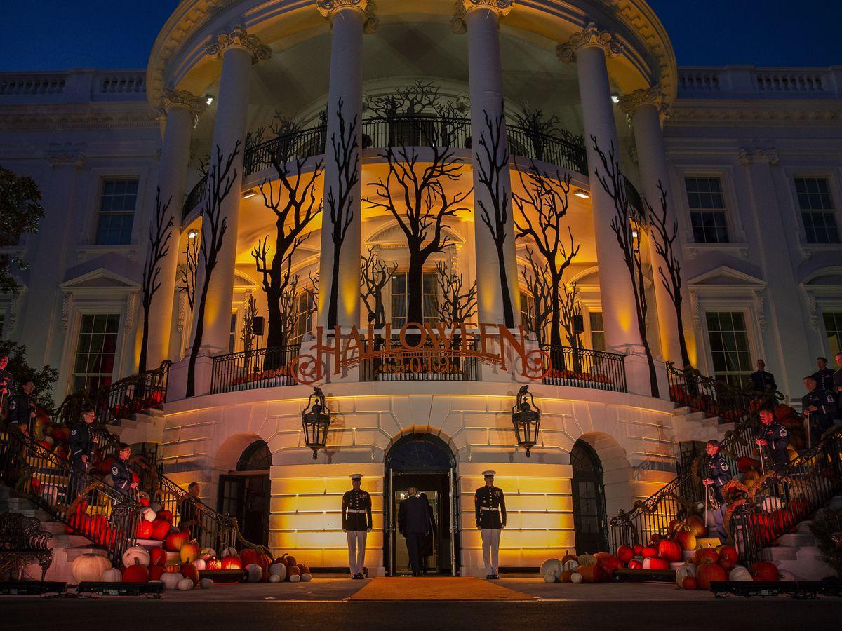 White House Halloween event Sunday tweaked for coronavirus