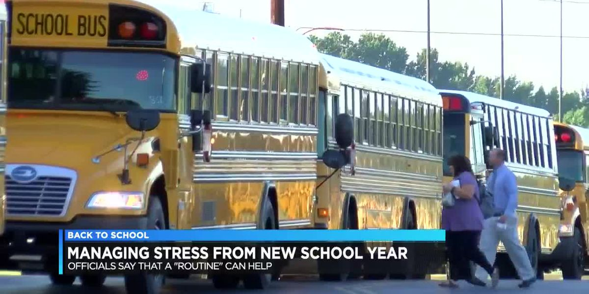 Officials: student stress levels rise during back to school