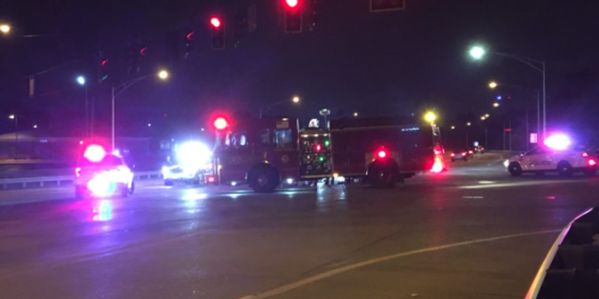 Diamond & First Avenue reopen after Tues. night crash