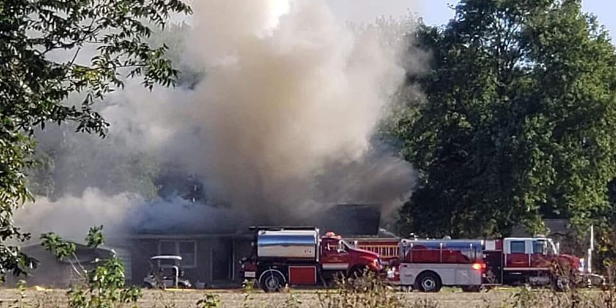 Another Spencer Co. family loses home because of fire