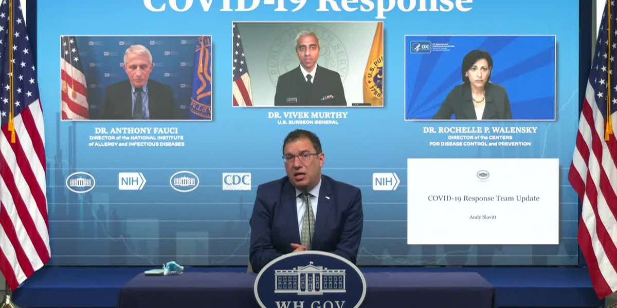 LIVE: White House COVID-19 response team holds briefing