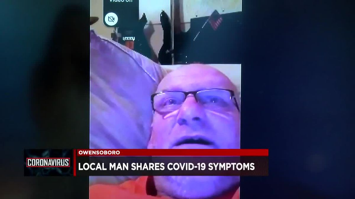 Owensboro man shares experience of battling COVID-19