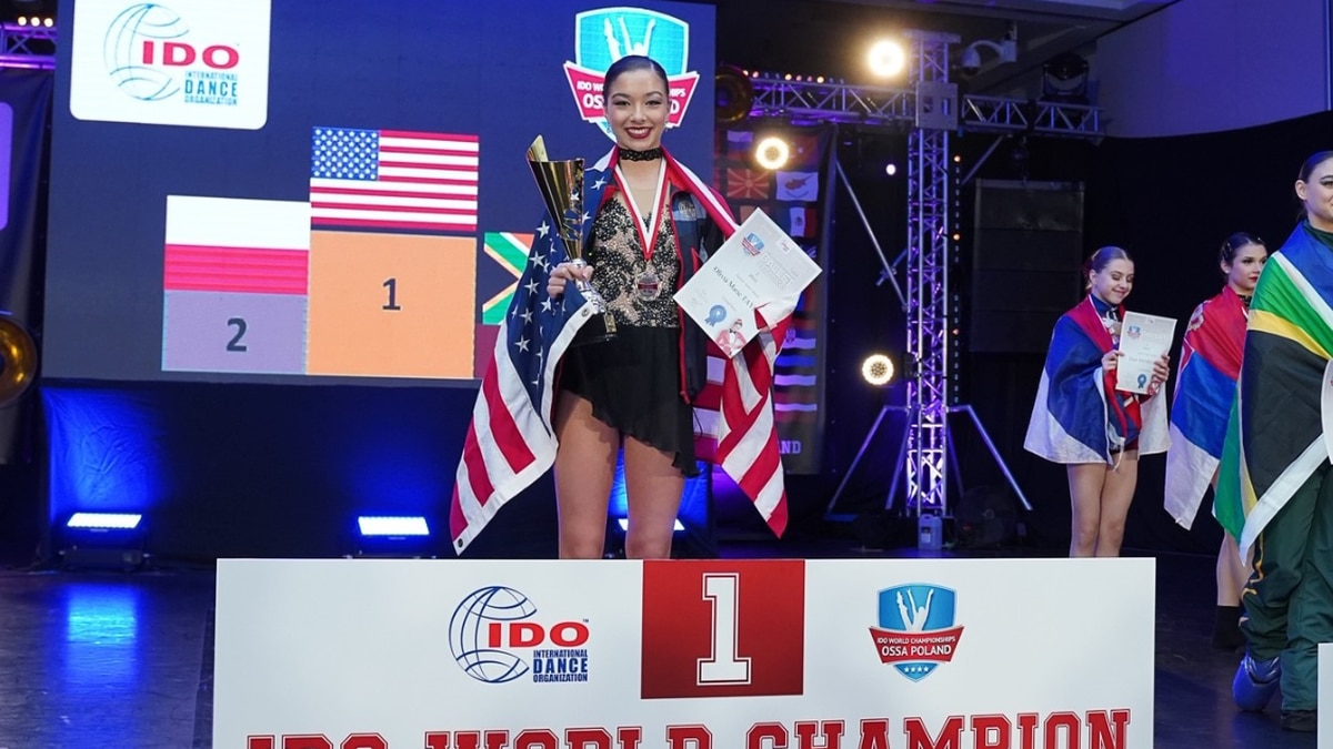 Newburgh teen wins gold medal in IDO's World Championships in Poland
