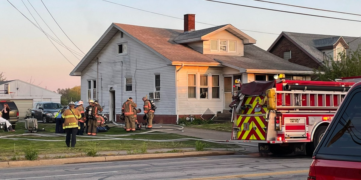 Multiple pets die in morning house fire in Evansville