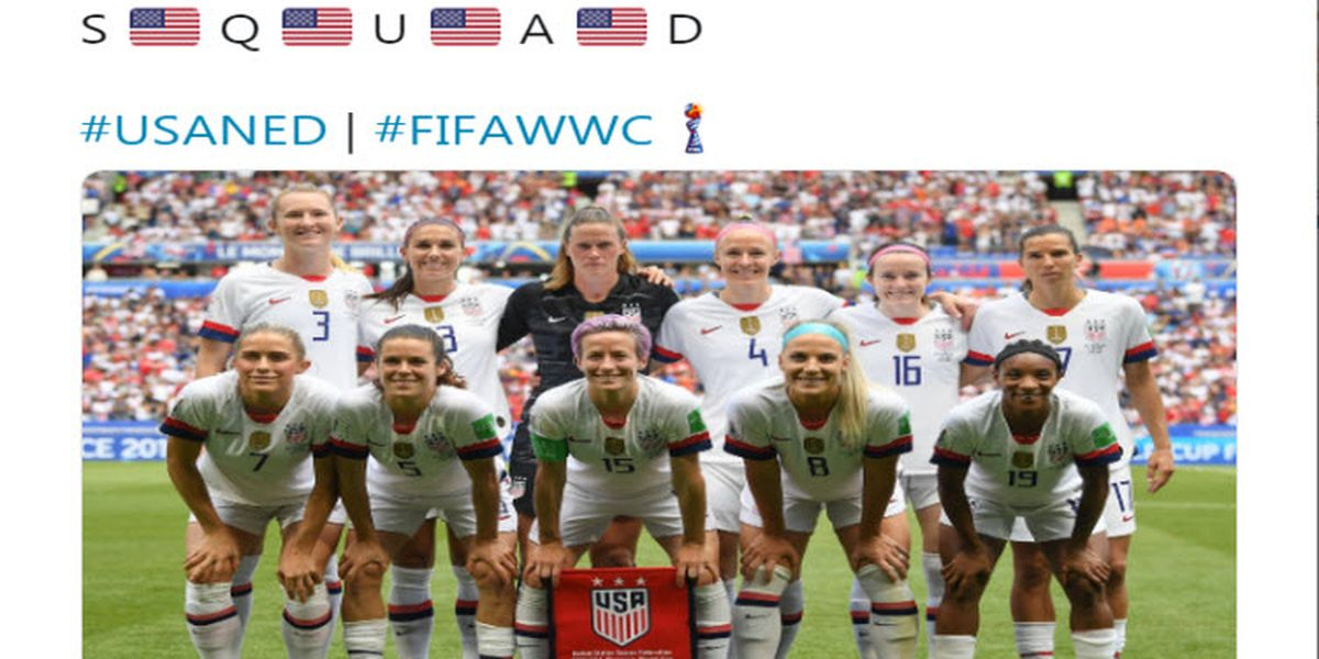 USWNT wins FIFA Women's World Cup over Netherlands
