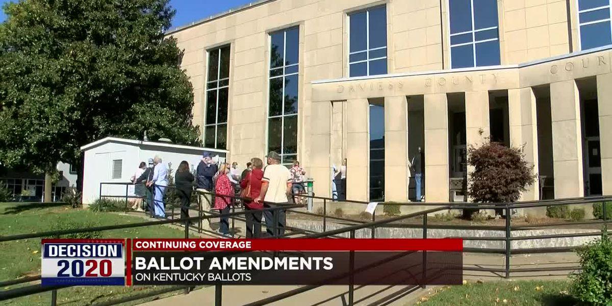 Breaking down ballot amendments in Kentucky, Illinois