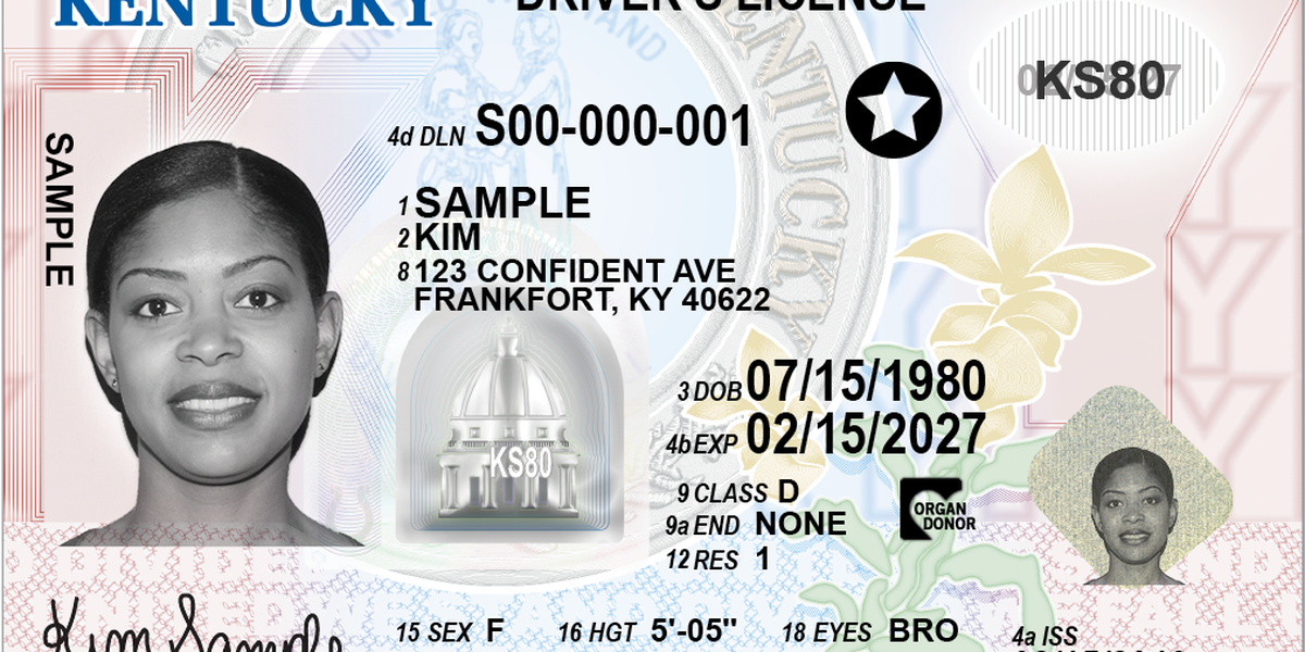 Kentucky rollout of REAL ID compliant driver's licenses delayed