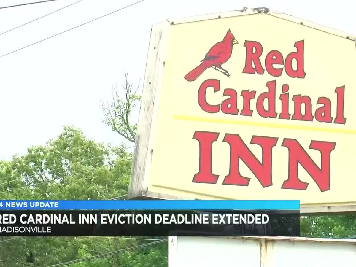 Red Cardinal Inn evictions pushed back