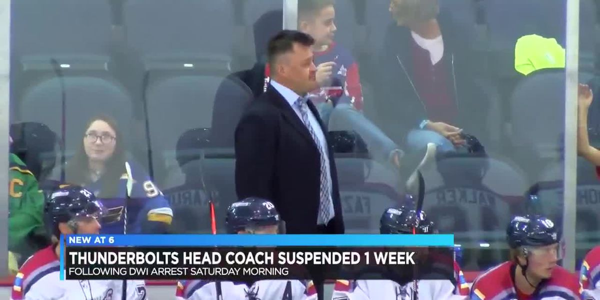 Thunderbolts coach suspended