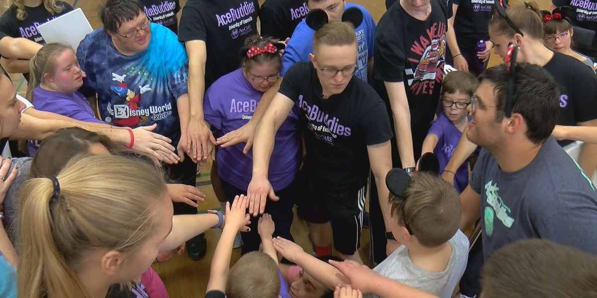 "UE ""AceBuddies"" program helps get people with disabilities moving"