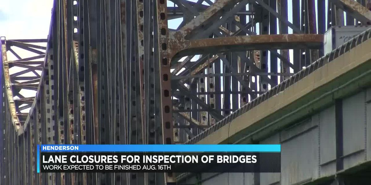 Traffic Alert: Lane closures in place on Twin Bridges for inspection