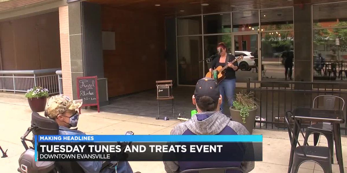 Downtown Evansville hosts Tuesday Tunes & Treats
