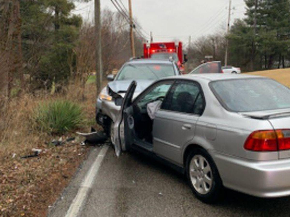 VCSO: 3 hospitalized after head-on crash