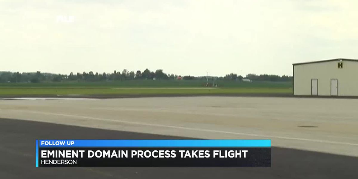 Eminent domain process takes flight on Henderson airport project