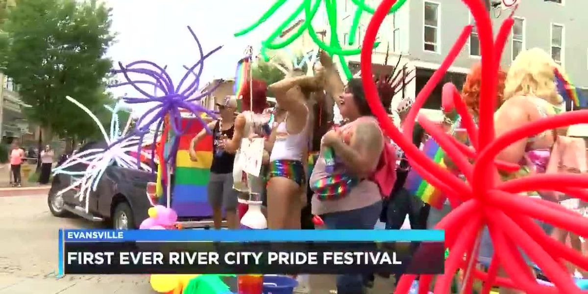 Evansville has 1st River City Pride Parade