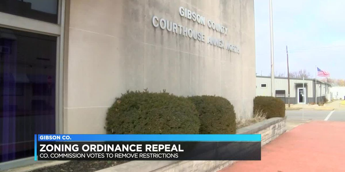 Gibson Co. Commissioners vote to repeal zoning ordinance