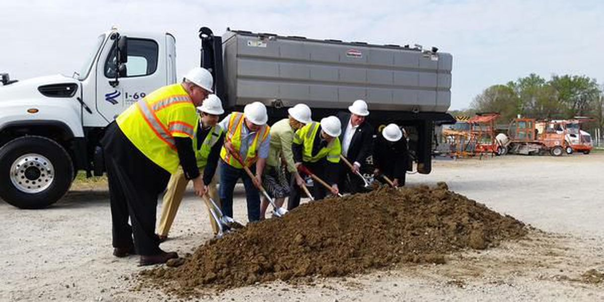 Groundbreaking for I-69 from Bloomington to Martinsville