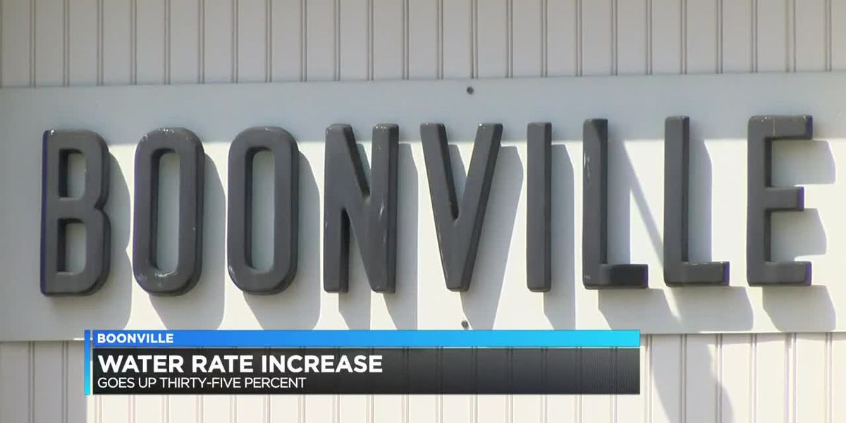 Boonville water rate hike takes effect