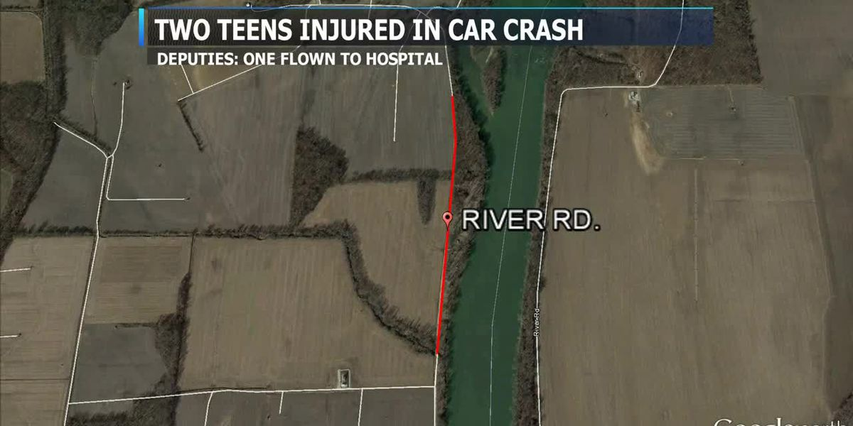 Sheriff's Office: 2 teens air lifted to hospital after truck hits tree