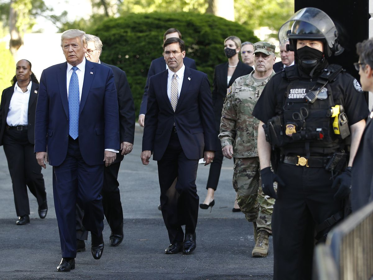 Pentagon-Trump clash breaks open over military and protests