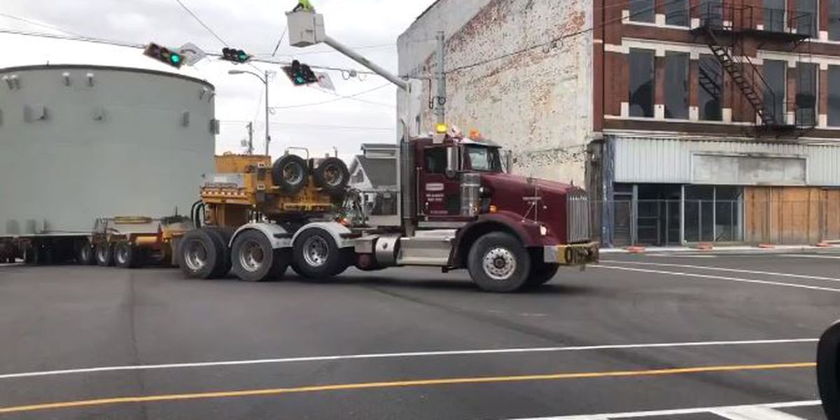Traffic Alert: Oversized load will close I-64 in Posey Co.