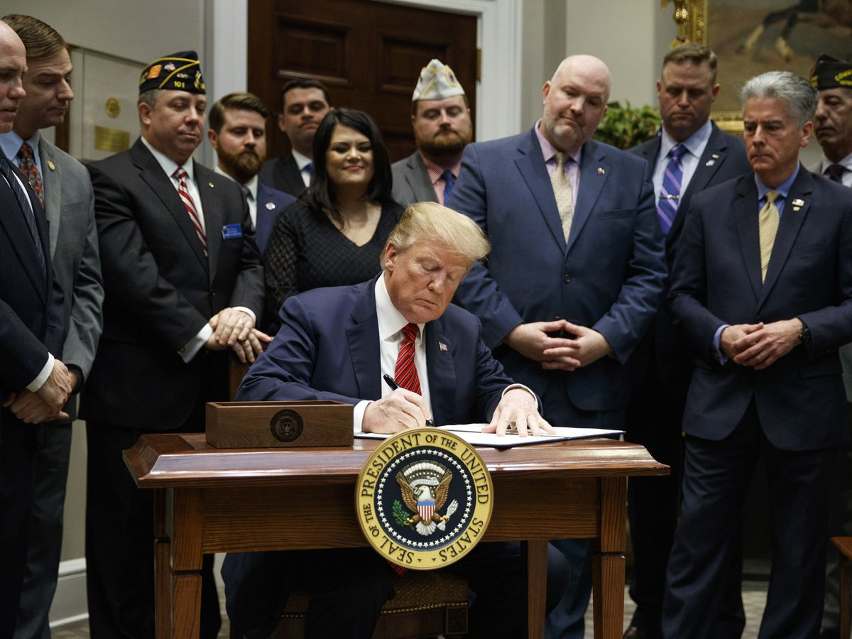 Trump aims to reduce veteran suicides with executive order