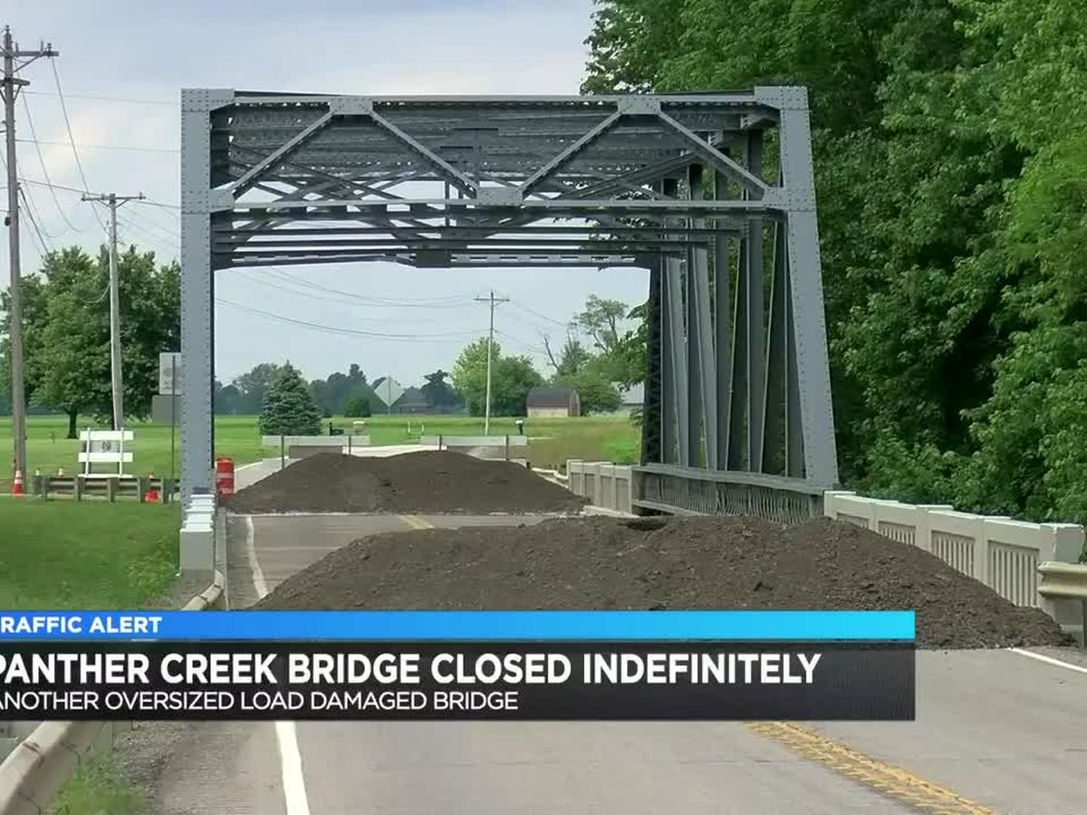 Panther Creek Bridge in Daviess Co. indefinitely closed due to crash