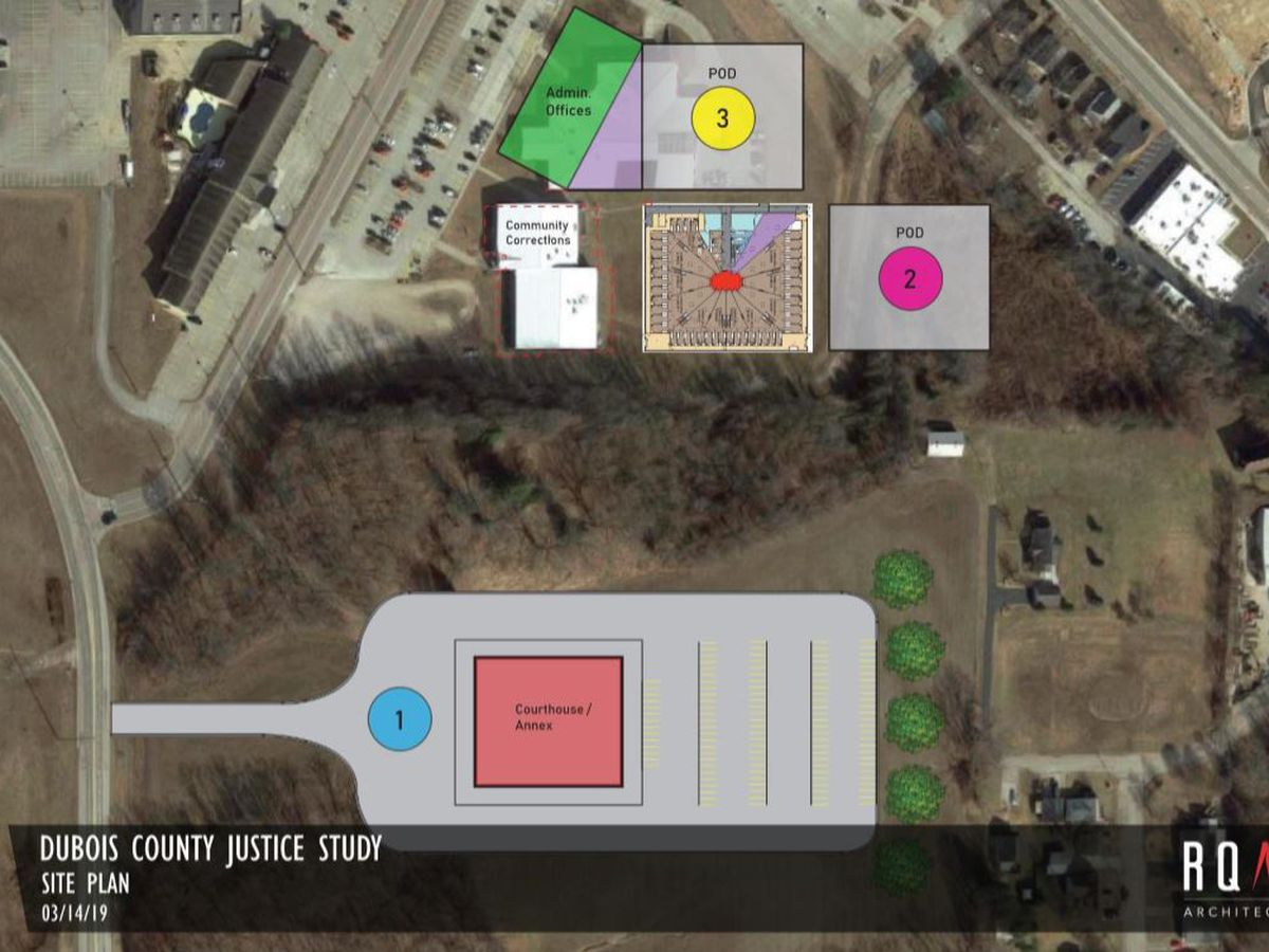 New plans for Dubois Co. justice project now available to public