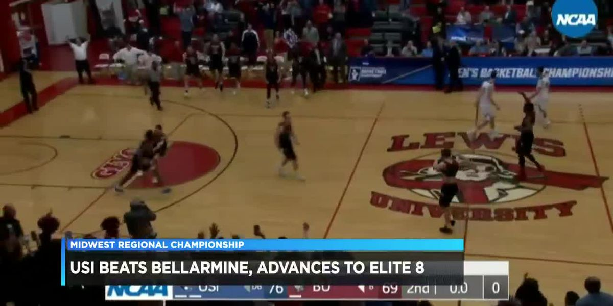 Fans, students watch as USI advance to D-II Elite Eight