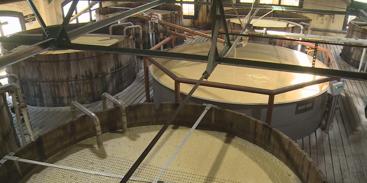 Kentucky distillers set modern-era bourbon production record