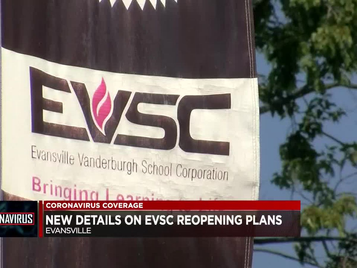 EVSC releases new reopening details with less than a month before start of new school year