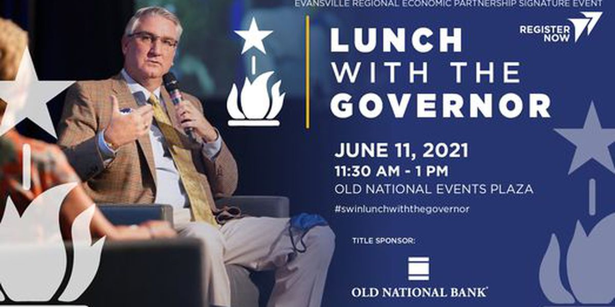 Gov. Holcomb attending Evansville event June 11