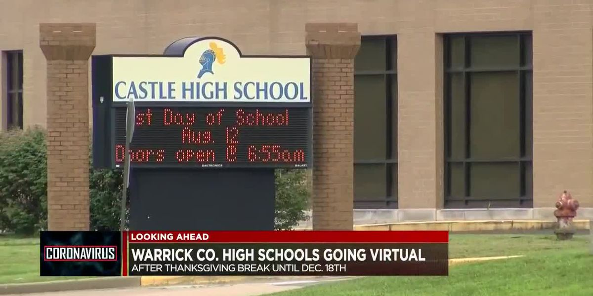 High school students in Warrick Co. going all virtual