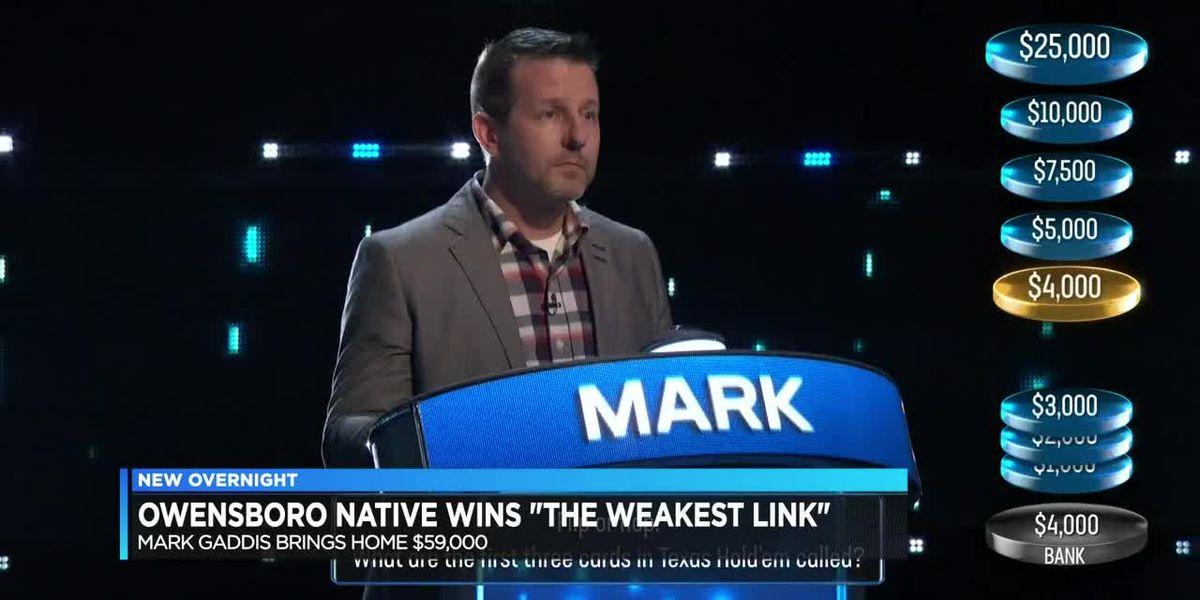 Owensboro native wins 'The Weakest Link'