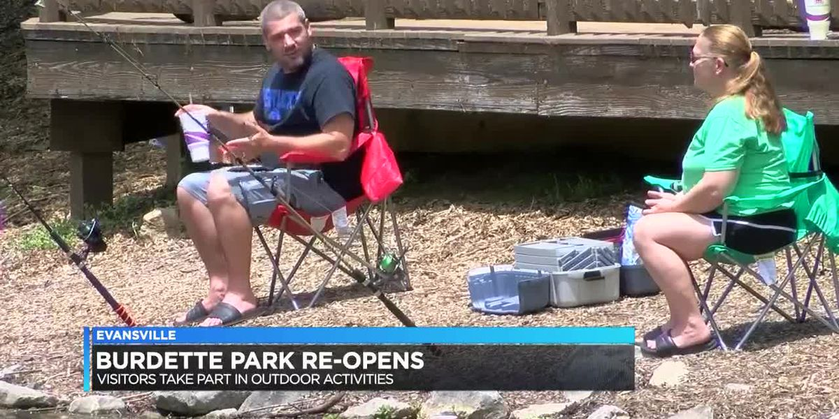 Burdette Park reopens in time for Memorial Day