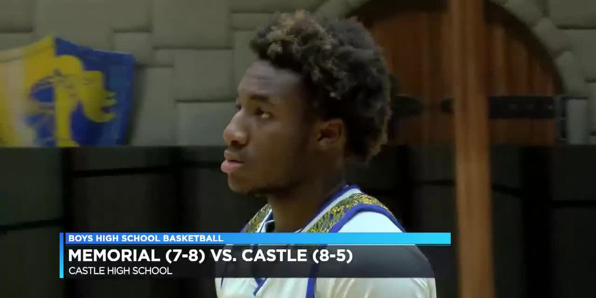 HS Boys Basketball: Memorial vs. Castle