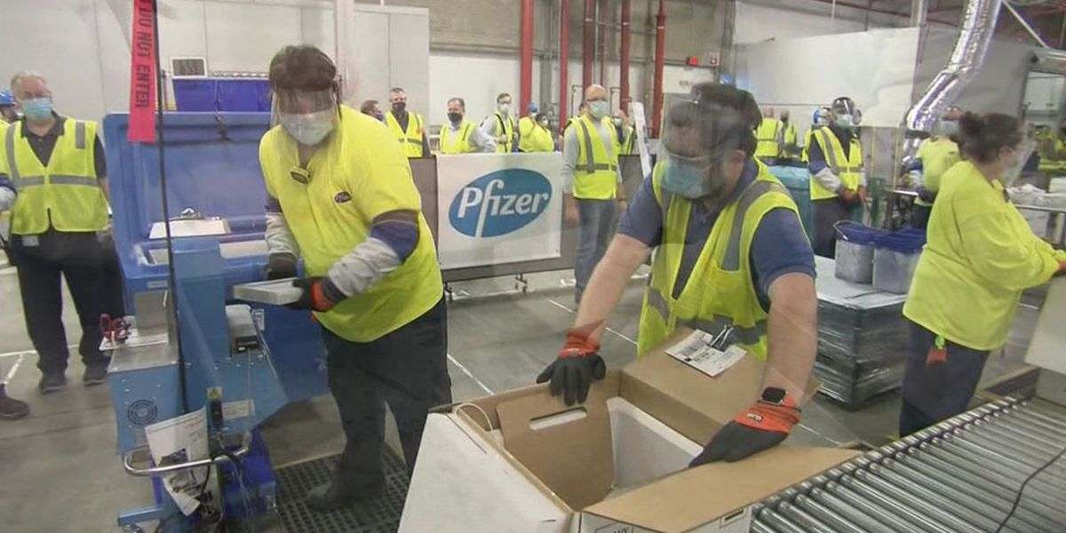 Pfizer says COVID-19 vaccine can be stored longer in regular freezer