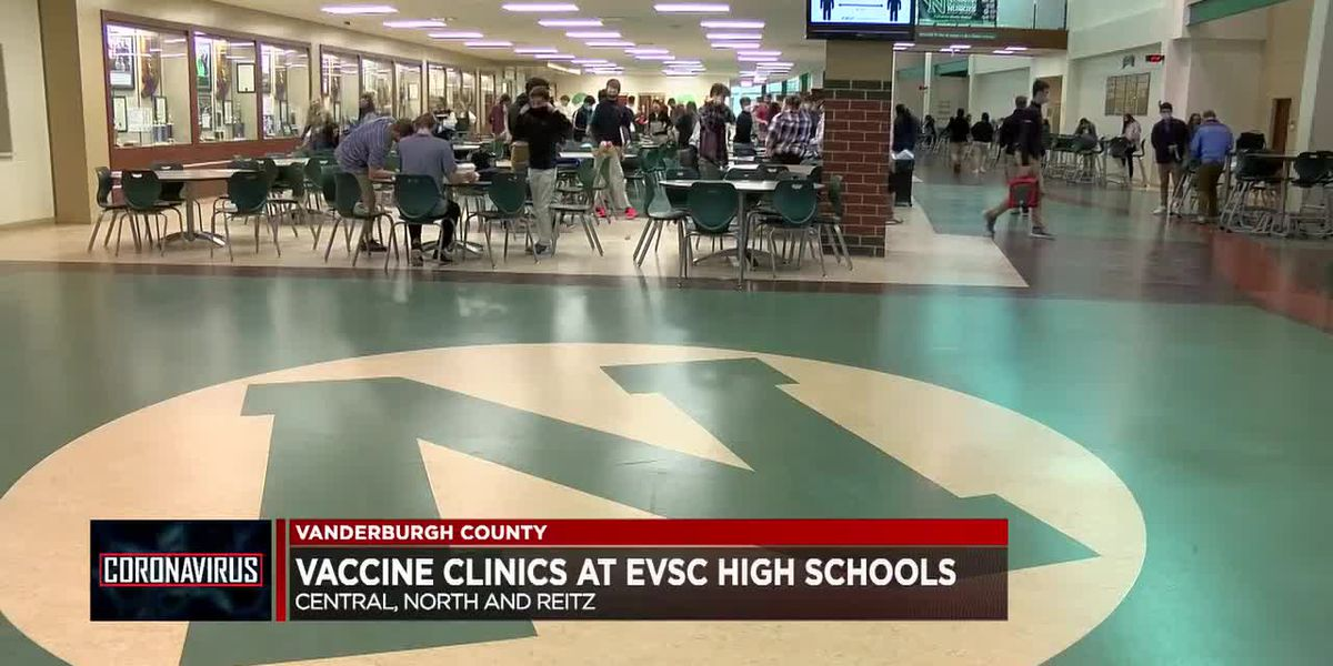 EVSC high schoolers roll up their sleeves for COVID-19 vaccine