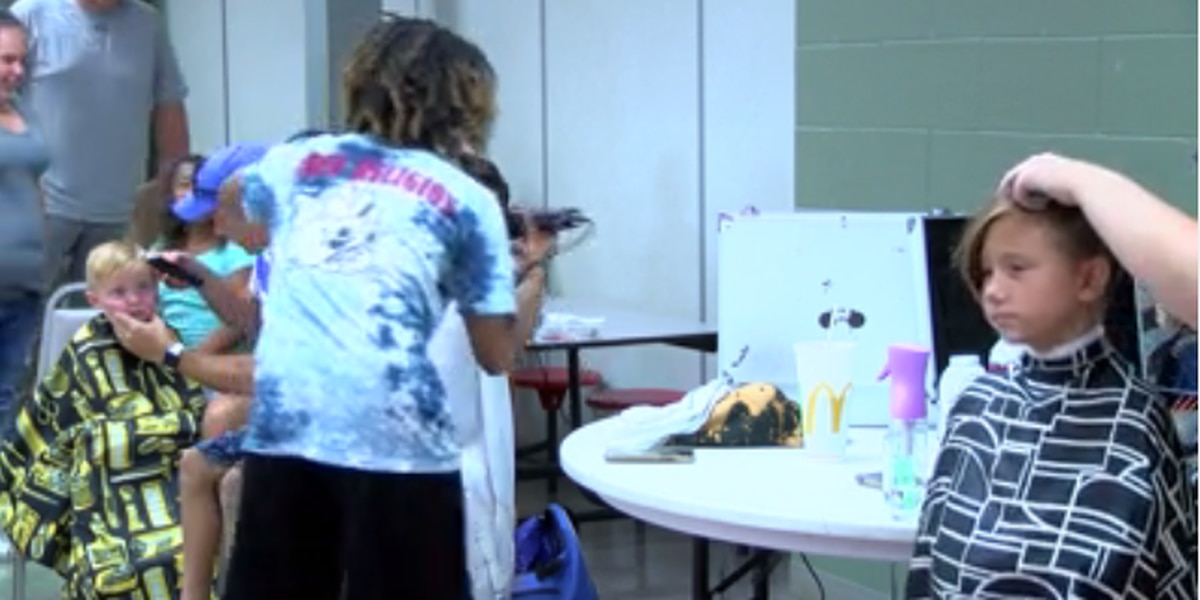 H.L. Neblett Community Center hold 2nd annual back to school event