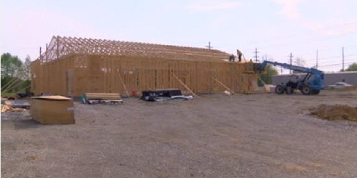 Work progresses for new Henderson Co. Jail building