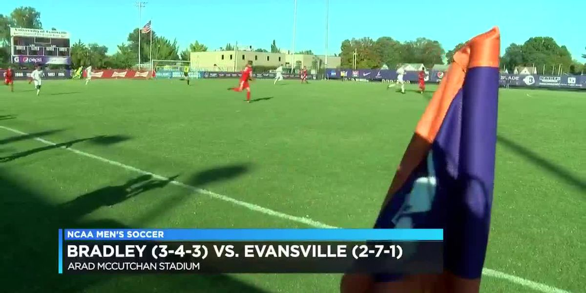 UE vs Bradley men's soccer highlights