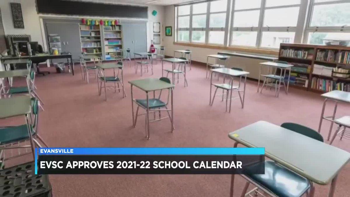 Evsc 2021-22 School Calendar Background