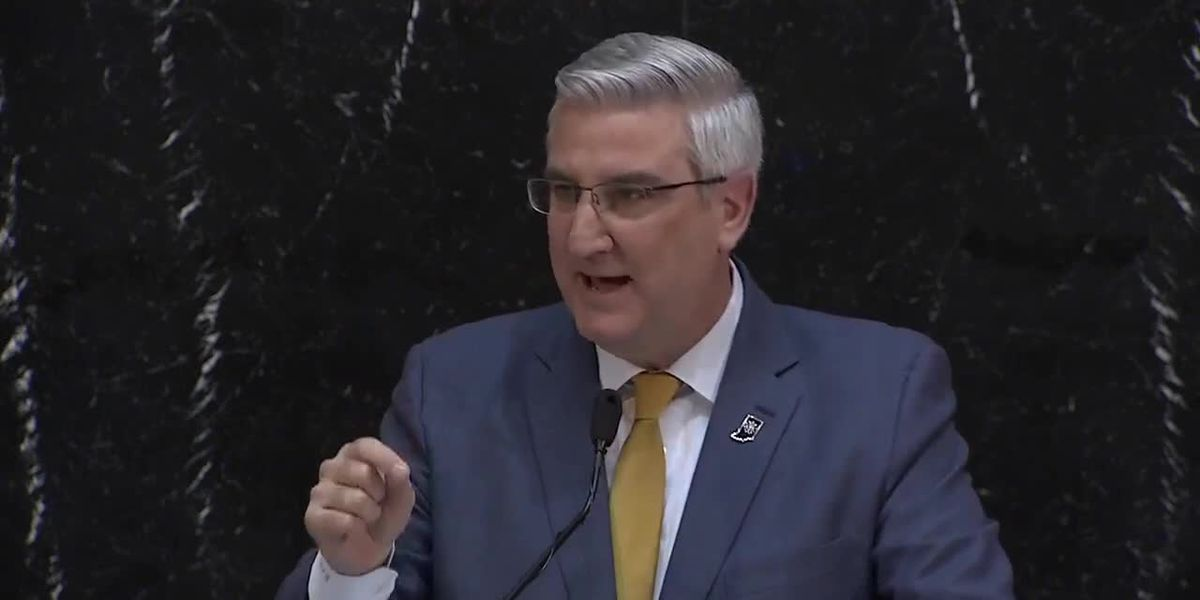 Gov. Holcomb discusses education funding during State of the State