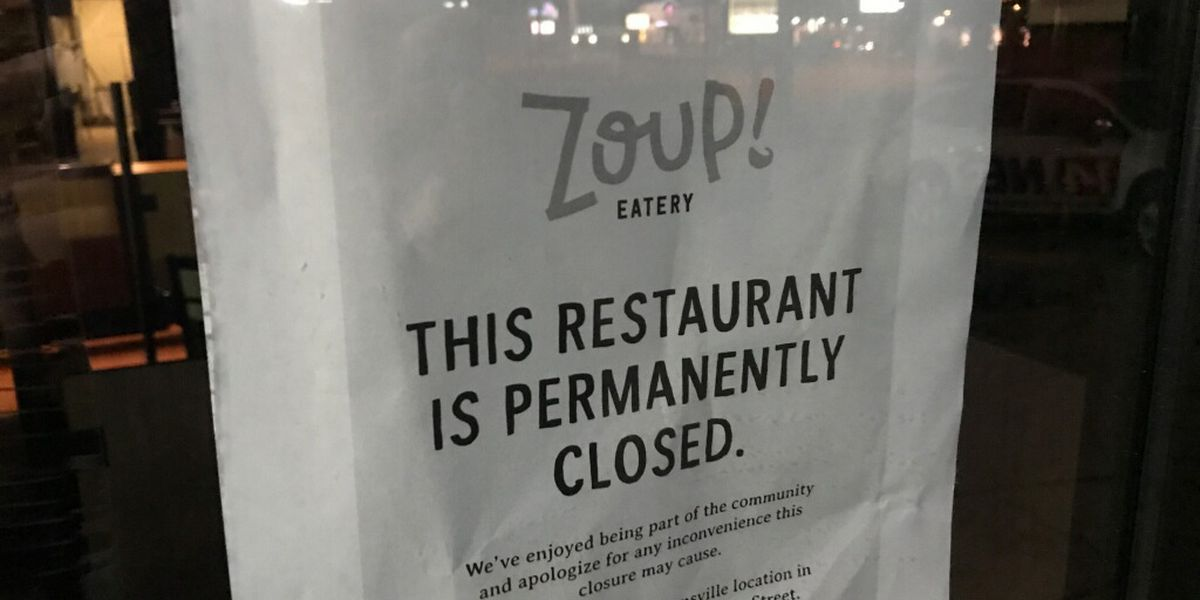 Zoup! permanently closes First Ave. location
