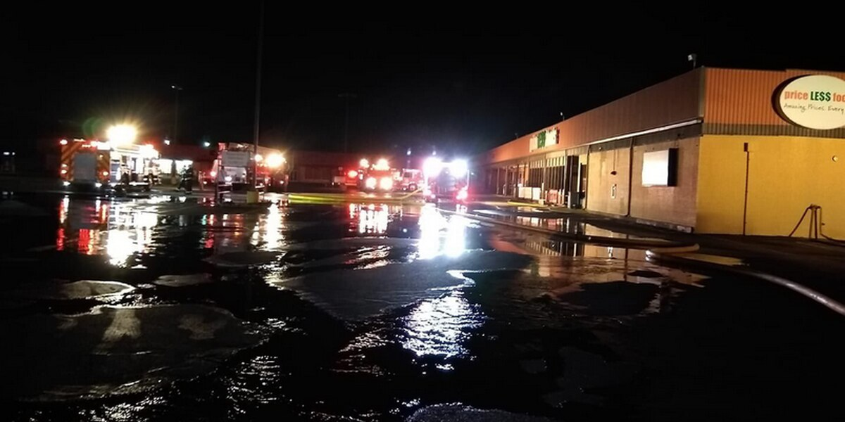 Owensboro grocery store closed Tuesday after overnight fire