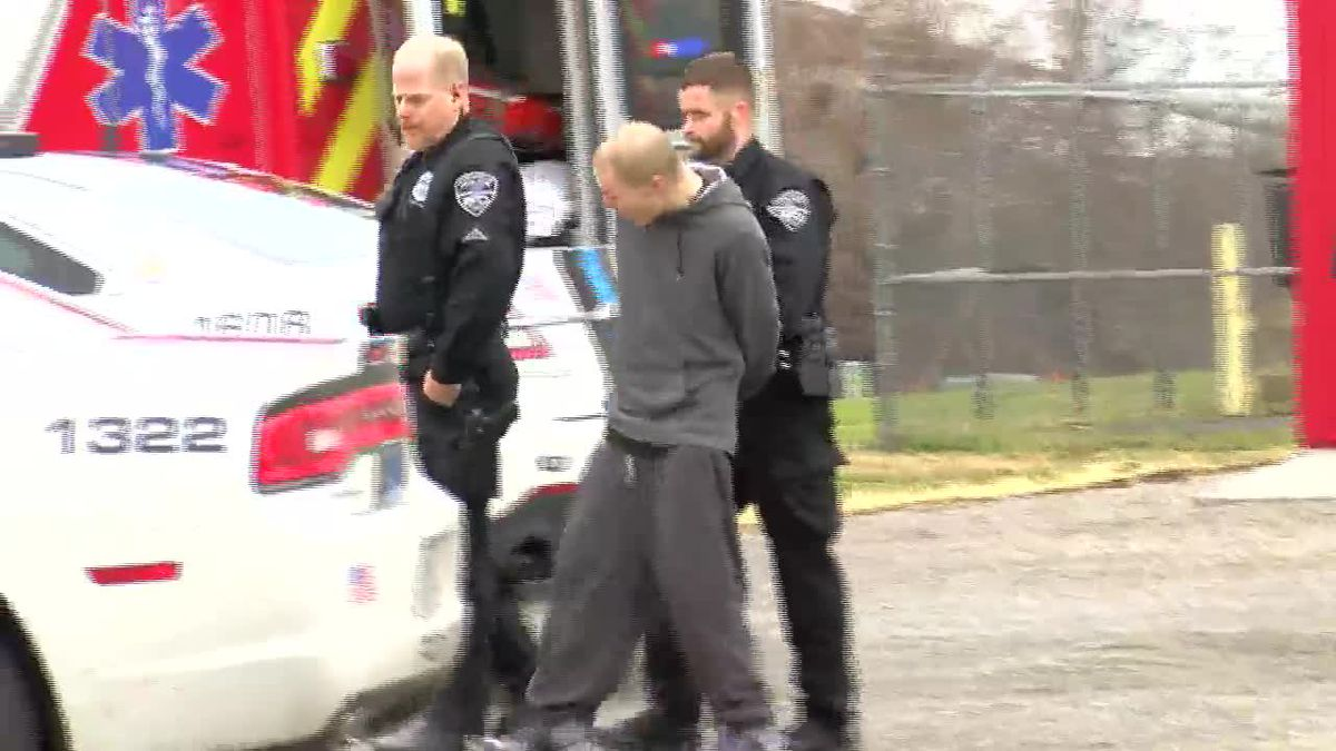 EXCLUSIVE VIDEO: Two arrested after east side chase