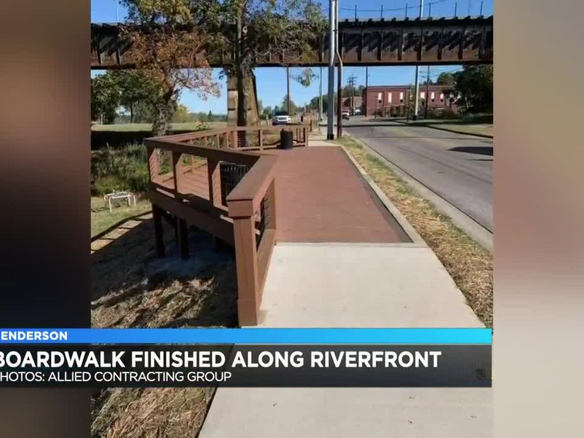 Henderson riverfront upgrades completed