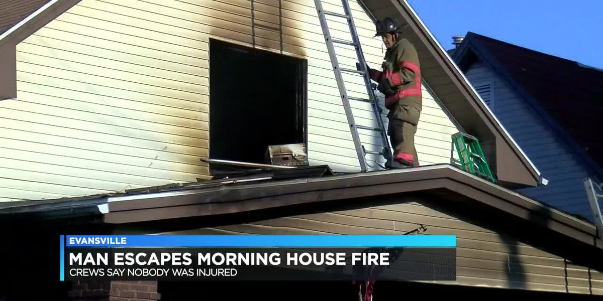 Evansville house fire under investigation